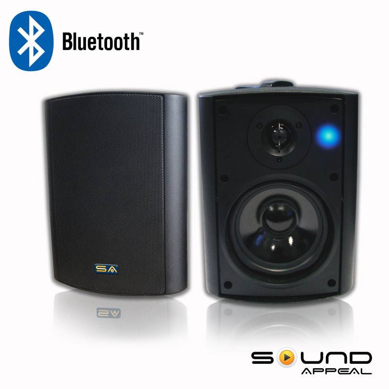 Best Bluetooth Outdoor Speakers For Patio Or Pool With Long Range Bluetooth Technology Sound Appeal Sa Blast5 W